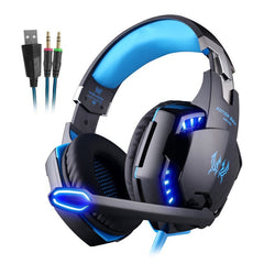 Gaming Headset Casque Deep Bass Stereo