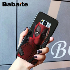 Marvel DIY Printing Drawing Phone Case For Samsung Galaxy