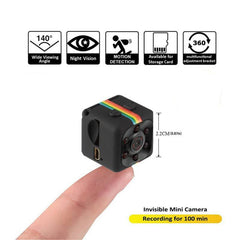 WIRELESS HIDDEN SECURITY CAMERA MINIATURE NANNY CAMERA