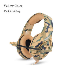 ONIKUMA K1 Camouflage PS4 Gaming Headsets