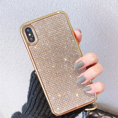 Bling Crystal Shining Diamond Phone Case For iPhone