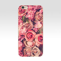 Beautiful Garden Red Roses Flowers For Cases iPhone