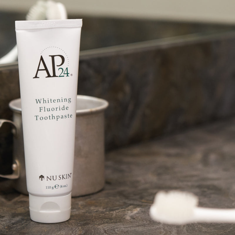 AP 24® Whitening Fluoride Toothpaste by Nu Skin - available at Moxie Beauty Care