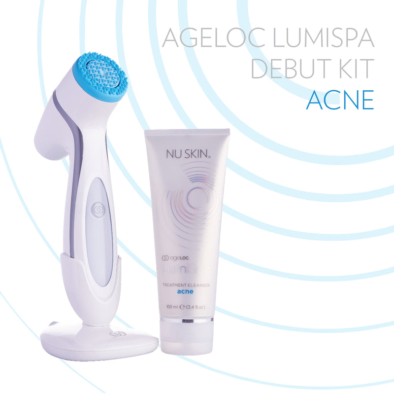 ageLOC® LumiSpa® Debut Kit for Acne Skin - available at Moxie Beauty Care
