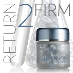 ageLOC® Tru Face® Essence Ultra by Nu Skin capsules - available at Moxie Beauty Care