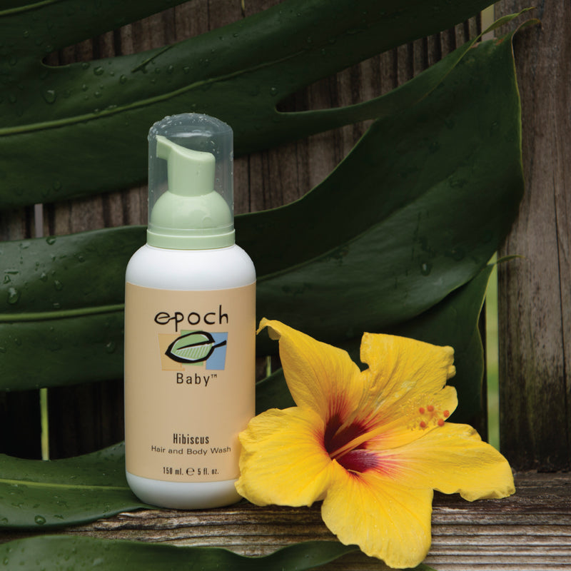 Epoch® Baby Hibiscus Hair & Body Wash - available at Moxie Beauty Care