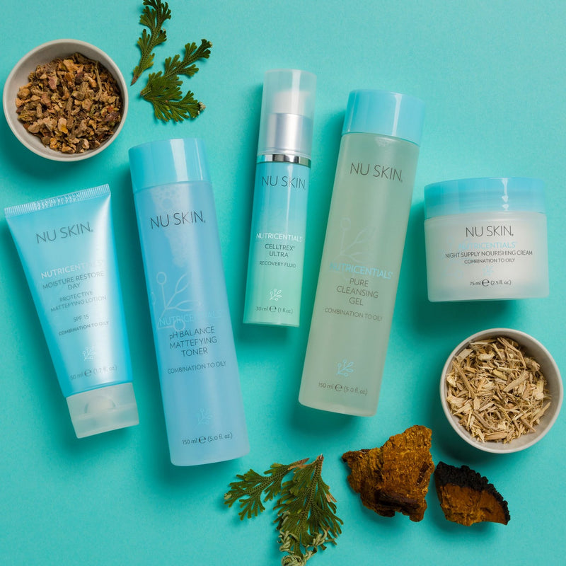 Nutricentials® System Set for Combo/Oily Skin - at Moxie Beauty Care