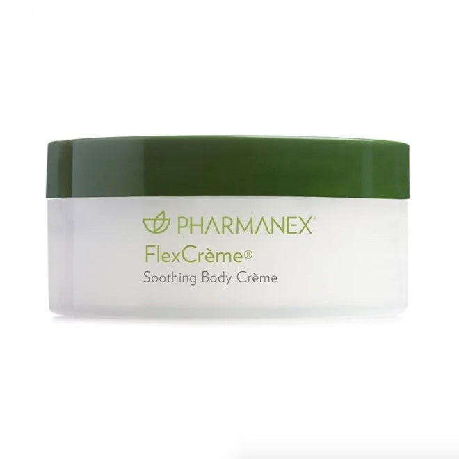 FlexCrème® by NuSkin is a unique, proprietary topical crème that comforts tension and soothes the body for healthy mobility. Moxie Beauty Care.