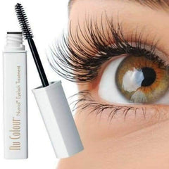 Nu Colour® Nutriol® Eyelash Treatment - at Moxie Beauty Care - image of product and lashes