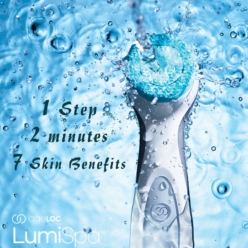 ageLOC® LumiSpa® Debut Kit (Normal/Combo Skin) by Nu Skin - available at Moxie Beauty Care