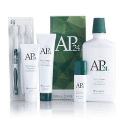 AP 24® Anti-Plaque Oral Care System by Nu Skin - available at Moxie Beauty Care