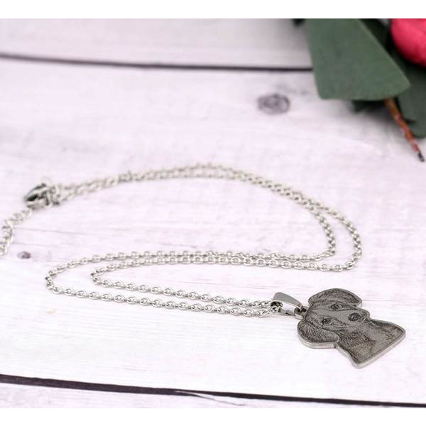 dog picture necklace