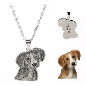 pet necklace from photo