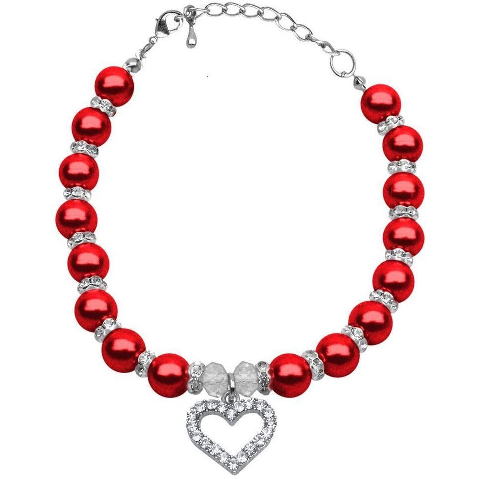Red Dog Pearl Necklace