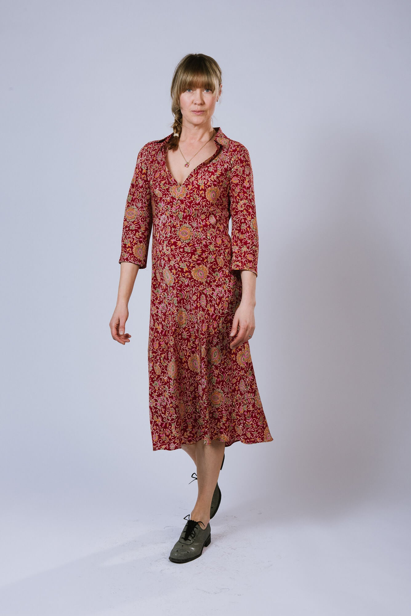 Bombay Dress - V Neck