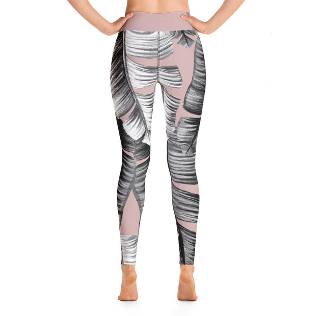 Banana Leaves Dusty - Leggings