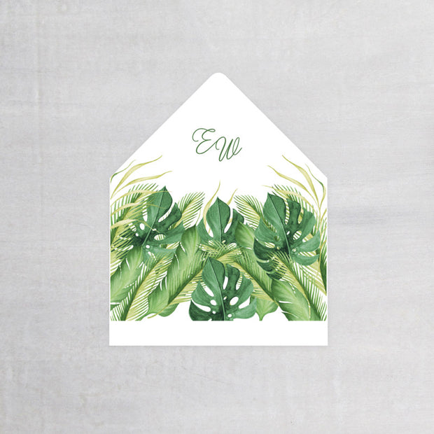 Monstera - Envelope Liner