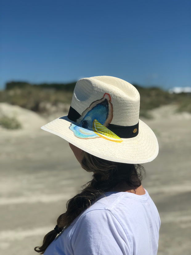 Oyster Roast | Hand Painted Hat