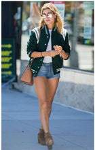Load image into Gallery viewer, Hailey Baldwin Varsity Letterman Jackets for High school Custom Your Own Jacket