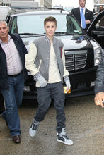 Load image into Gallery viewer, Justin Bieber Varsity Jacket High School Letterman Jacket A Letter