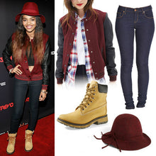 Load image into Gallery viewer, China Anne McClain Varsity Jackets Nina Boochie Letterman Jackets for High School