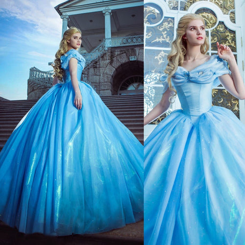Adult Cinderella Dress for Wome - Cinderella Live Action Dress 2015