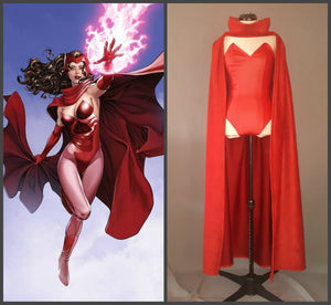 Adult Wanda Maximoff Scarlet Witch Costume for Women