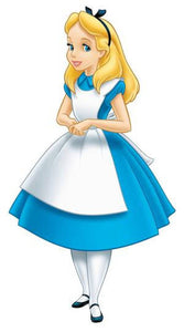 Alice in Wonderland Dress Blue Alice Dress Outfit Cosplay Costume