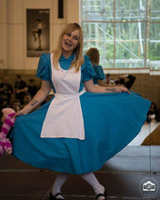 Load image into Gallery viewer, Alice in Wonderland Outfit - Blue Alice Apron Maid Dress Alice Costume
