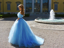 Load image into Gallery viewer, Cinderella Dress for Adults Cinderella Cosplay Costume