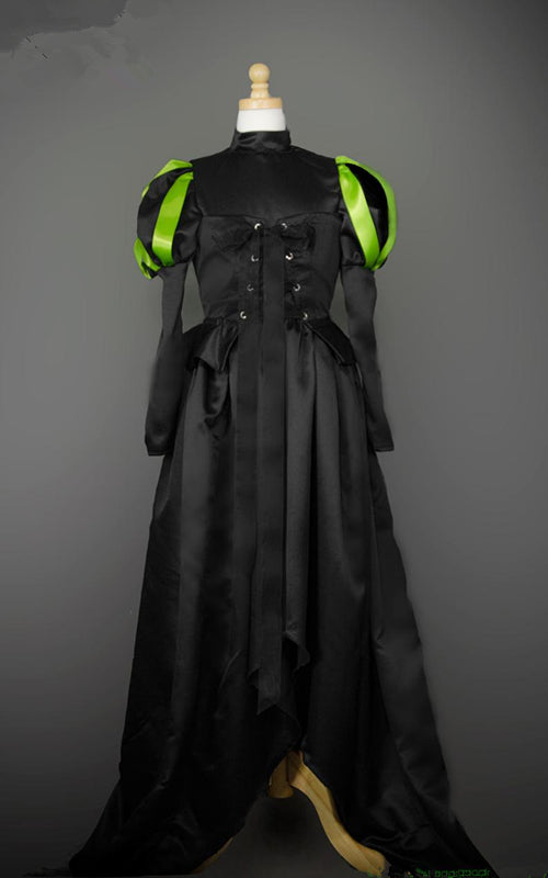 Elphaba Costume Elphaba Outfit Wicked Witch Cosplay Costume for Adult