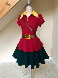Adult Female Gaston Costume for Women