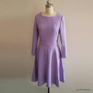 Kate Middleton Purple Lavender Dress Duchess Cambridge Dress