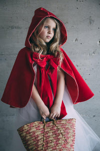 Little Red Riding Hood Costume for Girls Women Halloween