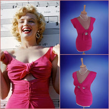 Load image into Gallery viewer, Marilyn Monroe Pink Dress 21st Century Niagara Top
