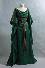 Load image into Gallery viewer, Medieval Celtic Viking Dress Cosplay Costume