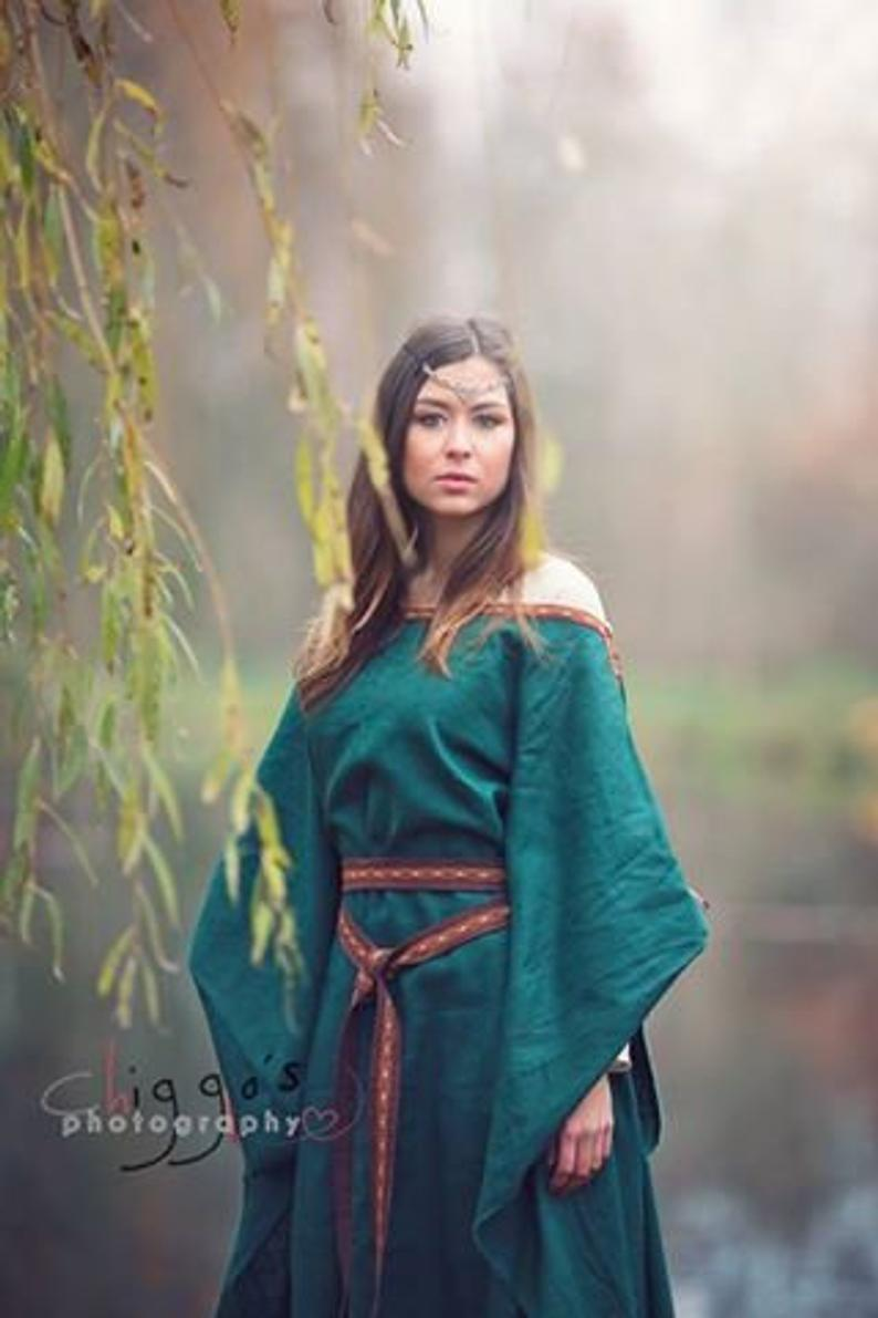 Medieval Celtic Viking Dress Cosplay Costume
