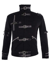 Load image into Gallery viewer, Michael Jackson Bad Costume Black Outfit Jacket for Male, Female, Kids