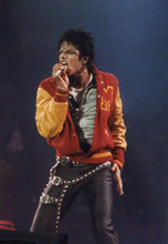 Load image into Gallery viewer, Custom MJ Michael Jackson Thriller Jacket M Letter Varsity Jacket