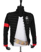 Load image into Gallery viewer, Michael Jackson Cosplay Award Ceremony Hussar Costume Black Jacket
