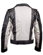 Load image into Gallery viewer, Michael Jackson Commercial Jacket Black White Leather Costume