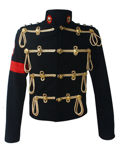 Michael Jackson Costume Military Black Jacket