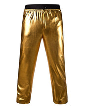 Load image into Gallery viewer, Michael Jackson History Tour Pants Golden Trouser