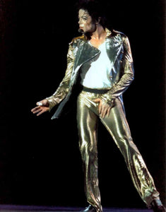Michael Jackson History Tour Pants Golden Trouser