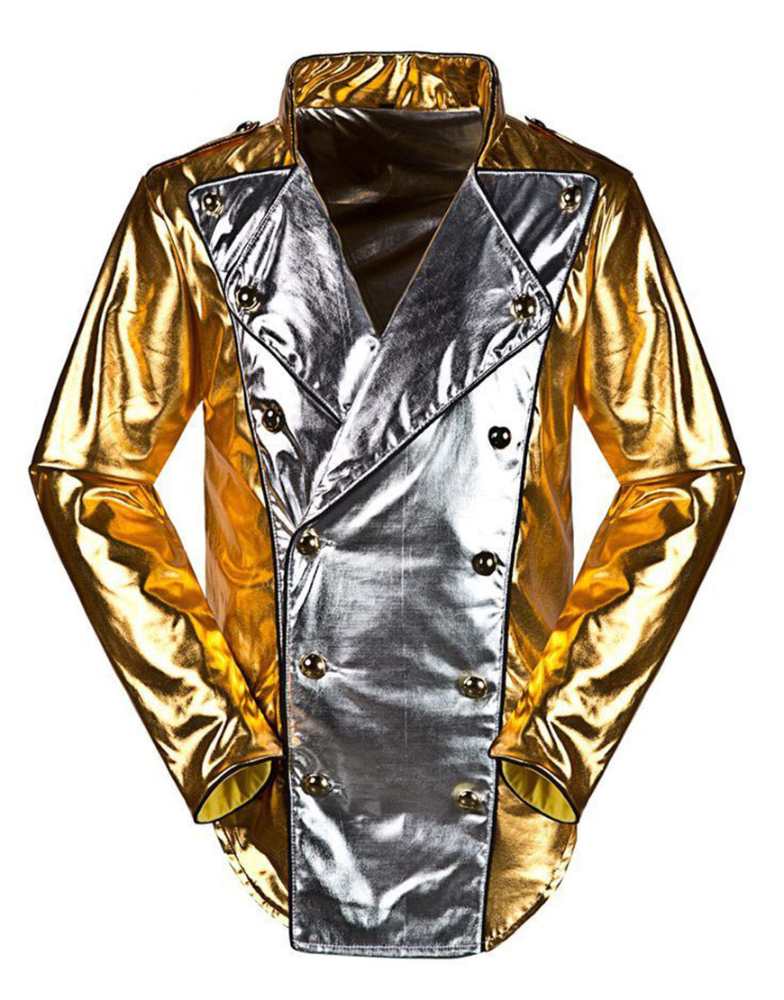 Michael Jackson History World Tour Costume Golden Jacket Any Sizes