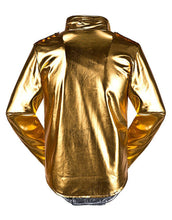 Load image into Gallery viewer, Michael Jackson History World Tour Costume Golden Jacket Any Sizes