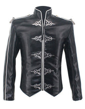 Load image into Gallery viewer, Michael Jackson Jacket Classic V8 Punk Moto Skinny Leather Black Costume