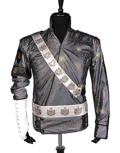 Kids/Men/Female Michael Jackson Jam Jacket Cosplay Costume