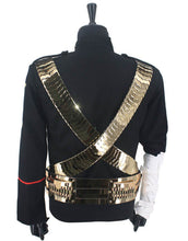 Load image into Gallery viewer, Michael Jackson Jam Jacket with Golden Belt for Man, Women, Kids