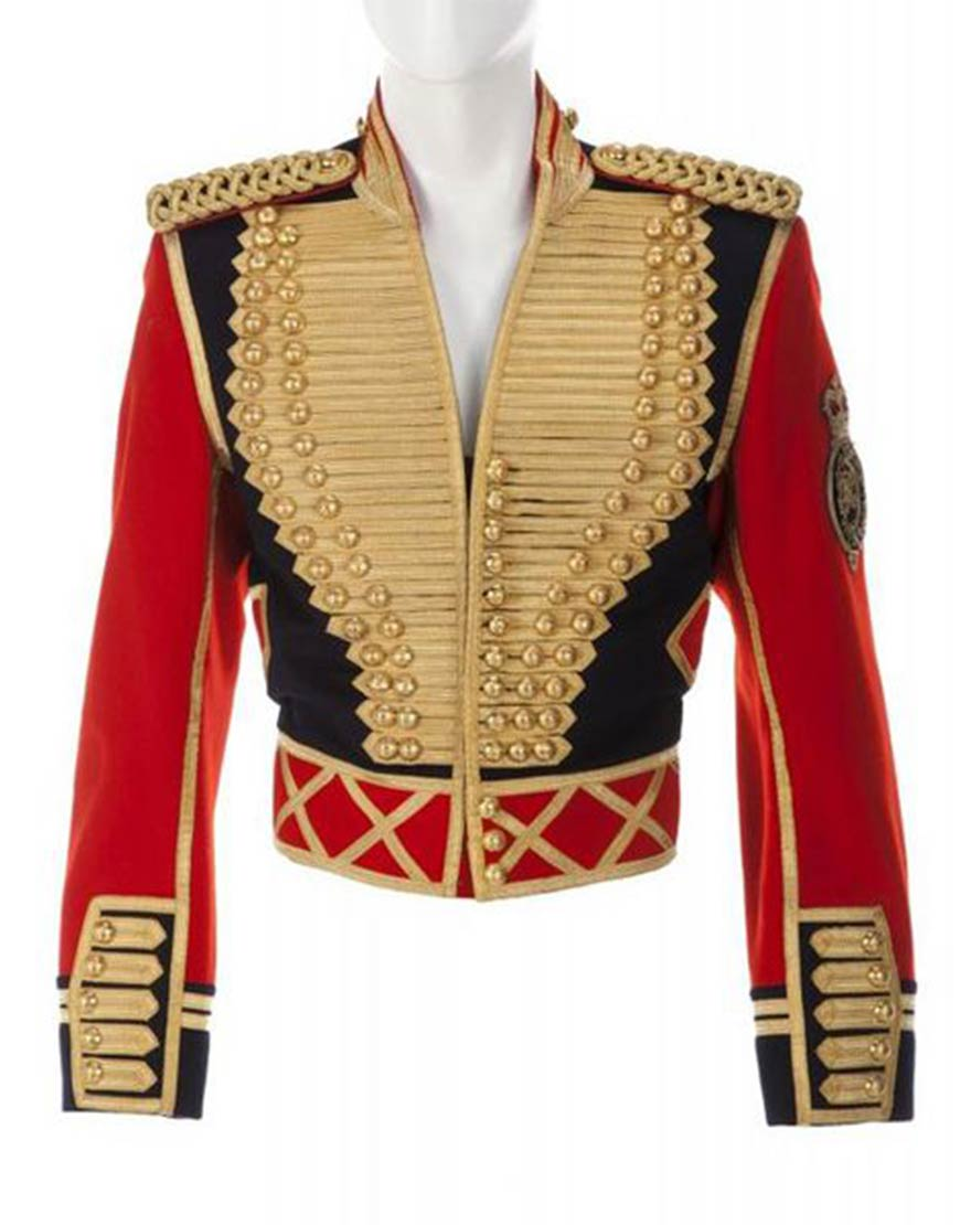 Michael Jackson Leave me Alone Red Jacket Cosplay Costume